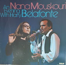 LP Belafonte /Mouskouri - An Evening With Belafonte / Mouskouri RCA 1966