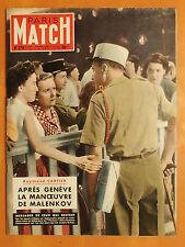 Paris Match 279 du 31/7/1954-Indochine, légionnaire messager de ceux qui restent