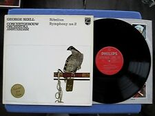 SIBELIUS: SYMPHONY No. 2 GEORGE SZELL, COA / PHILIPS 835 306 LY Holland 1970 NM