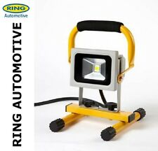 RING LED COMPACT COB 800 LEMENS WORKLIGHT  LAMP & STAND 240V