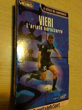 VIDEOCASSETTA CRISTIAN VIERI L'ARIETE NERAZZURRO BOBO FC INTER VHS GAZZETTA