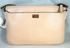COACH MADISON PEACH ROSE LEATHER  SWINGPACK PURSE 49992