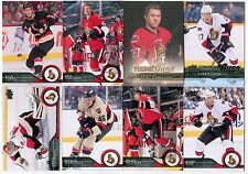 Ottawa Senators 2014-15 Upper Deck Series 1 Team Sets & Young Guns Card Lot