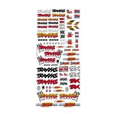 Traxxas 9950 Official Team Racing Decal Set (Flag Logo/6-Color) Slash E-Revo