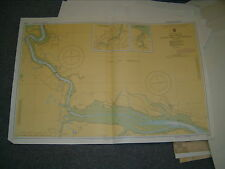 Vintage Admiralty Chart 2572 UK - THE SWALE - WINDMILL CRK to QUEENBORO 1977 edn