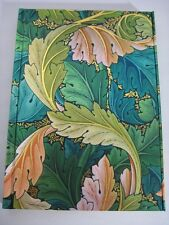 WILLIAM MORRIS Acanthus Lined Blank Journal Magnetic Closure Foiled Cover