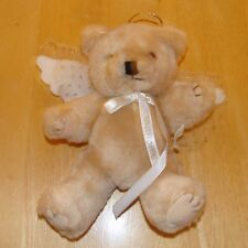 WALLFLOWERS Stuffed Plush Angel BEAR w/ Wings & Halo Fully Posable Arms and Legs