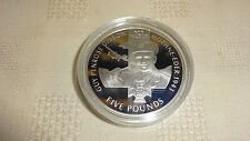 JERSEY 2006 VICTORIA CROSS SILVER PROOF £5 CROWN - GUY PENROSE GIBSON