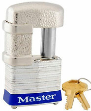 Lock From Master 37KA Keyed Alike $25 OR MORE FREE SHIPPING!! Shrouded Padlock
