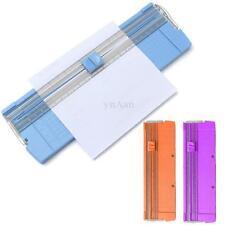 Guillotine Massicot Précision Tondeuse Couper A4 A5 Papier Photo Carte Rotatif