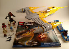 Lego Star Wars 7877 Naboo Starfighter Complete w/Instructions
