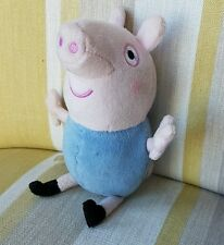 """George Pig from Peppa Pig 6"""" plush soft toy"""