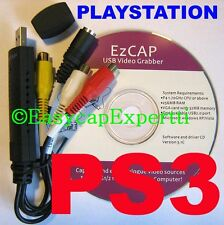 PS3 XBOX 360 Grabber USB CAPTURE CARD - HD video to YT