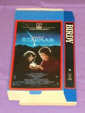 vintage original STARMAN & BIRDY video store display mobile (oversized vhs box)