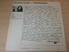 EX !! Lol Coxhill & Stephen Miller/The Story So Far..Oh Really?/1974 Caroline LP