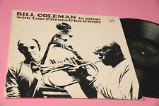 BILL COLEMAN LINO PATRUNO... LP IN MILAN TOP ITALY JAZZ EX