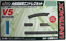Kato 20-864 UNITRACK Variation Set V5 Inner Oval Track Set (N scale)