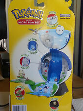 Pokemon Basic Deluxe Micro Playset Series-1 - Blue water Rare
