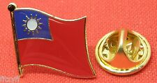 Taiwan Country Flag Lapel Hat Cap Tie Pin Badge pinyin Republic of China