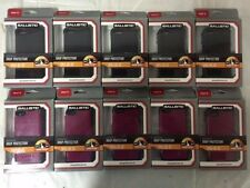 LOTS OF 10 Ballistic Shell Gel SG Series For iPhone 5c Black Purple - BRAND NEW