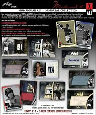 2016 Leaf Muhammad Ali Immortal Collection Factory Sealed Case CUT AUTOGRAPH