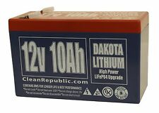 12 V 10 Ah LiFePO4 Battery - Lithium (BULK OF FOUR, SHIPPING INCLUDED)