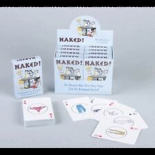 NAKED! NAUGHTY STRIP POKER CARD GAME PLAYING CARDS JOKE ADULT PARTY DECK