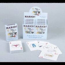 NAKED! NAUGHTY STRIP POKER CARD GAME PLAYING CARDS JOKE ADULT PARTY DECK NEW