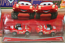 "DISNEY PIXAR CARS ""2-PACK SUPERFAN MIA & SUPERFAN TIA"" NEW IN PACKAGE, SHIP WW"