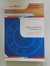 Telefonnummern in Österreich Adalbert Dirnbeck Chronik Guthmann Peterson ++++