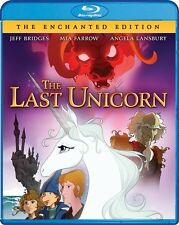 THE LAST UNICORN New Sealed Blu-ray + DVD The Enchanted Edition