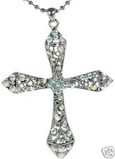 Premier Designs Angelina Crystal Cross Necklace