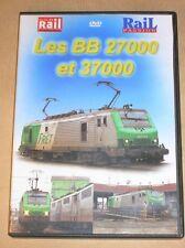 RARE DVD DOC / RAIL PASSION / LES BB 27000 ET 37000 / TRES BON ETAT