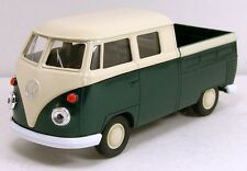 Welly Volkwagen 1960s VW T1 double cabin pickup truck van 1/36 diecast Green W66