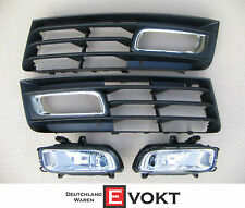 Audi A8 S8 Grill Fog Lights Chrome Grill Pack Audi S8 2008 GENUINE NEW