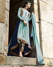 Bridel Long indian designer pakistani anarkali dress party wear wedding v 0122