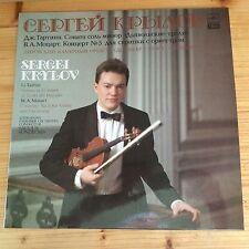 Sergei Krylov-G. Tartini Sonata in G minor, Mozart conc. n. 5 melodia 1988 NM