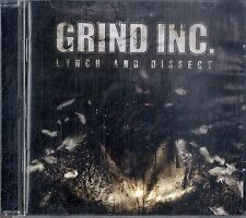 GRIND INC. Lynch and Dissect CD Ottime Condizioni