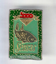 RARE PINS PIN'S .. SPORT PECHE FISHING POISSON SENSAS CANE APPATS 3000 N°2 ~CQ