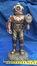 Steampunk mariners descente ornement nemesis now new boxed squelette diver