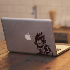 "Dragon Ball Z Vegeta Punching for Macbook Air Pro 11 13 15 17"" Decal Sticker"