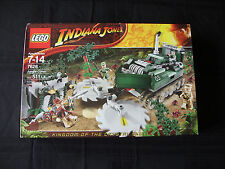 Lego NEW set #7626 Indiana Jones Jungle Cutter    NEW & Sealed  511 Pieces!