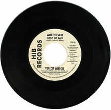 "VENICIA WILSON  ""WORTH EVERY DROP OF RAIN""   NORTHERN SOUL    LISTEN!"