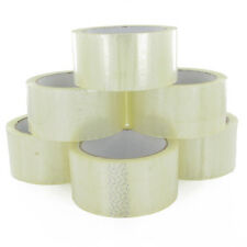 12 Rolls Sellotape.. 48mm x 50 Metres.... clear selotape packing tape cellotape