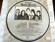 "Judas Priest The Best Of Picture Disc 1984 12"" LP French Import MINT Iron Maiden"