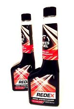 REDEX DIESEL INJECTOR FUEL SYSTEM CLEANER HELPS INCREASE FUEL ECONOMY- 2x250ml