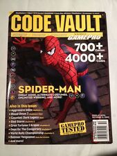 Code Vault , September/october 2002 Spiderman Cover