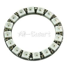 16Bit RGB LED Ring WS2812 5050 RGB LED Module + Integrated Drivers For Arduino A