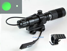 QR Mount Green Laser Sight Zoom Light Picatinny Weaver rail  for Rifle Scope *