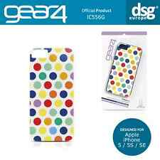 Gear4 Genuine Polka Dots Gloss Back Case Cover for Apple iPhone 5 5S SE